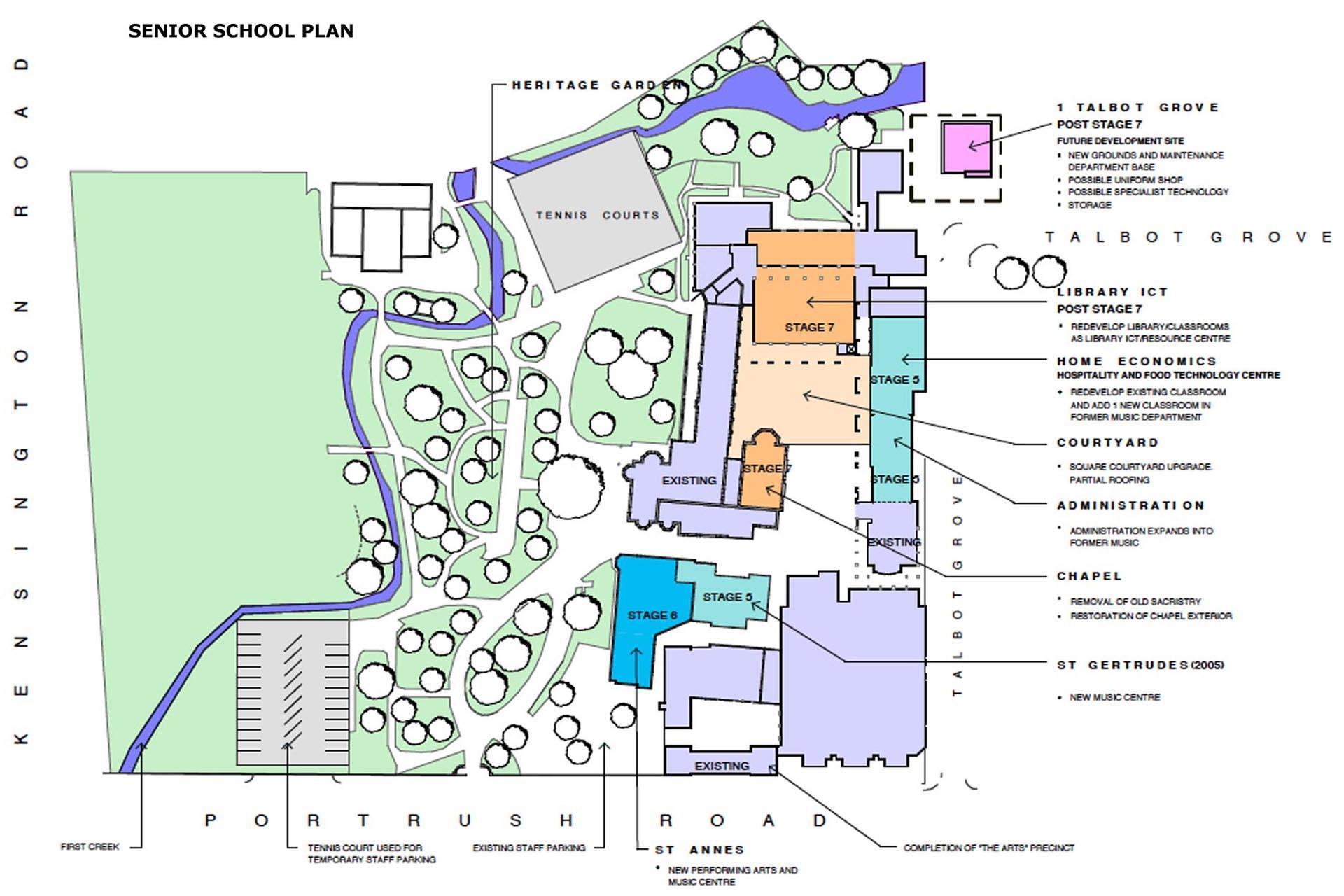 loreto college master plan phillips pilkington. Black Bedroom Furniture Sets. Home Design Ideas