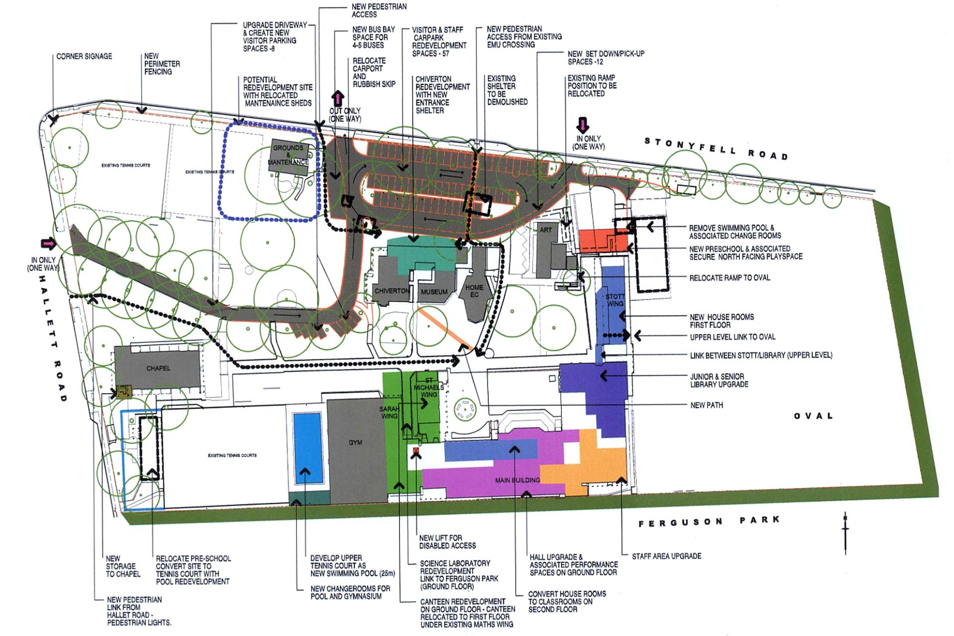 Open Floor Plan Master Planning Phillips Pilkington Architects Adelaide